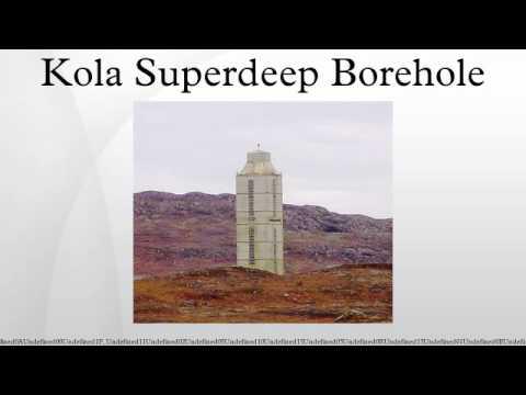 Kola Superdeep images
