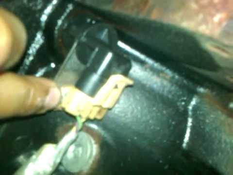 How to change crankshaft position sensor 04 GMC Savana 5.3L, Part 1