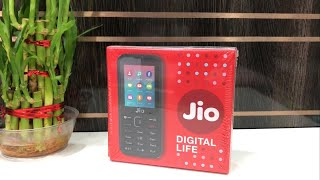 Jio Phone Unboxing & In depth Overview Rs 1500 Phone