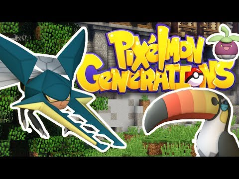 NEW POKEMON in Pixelmon Generations Showcase - NEW REMODELS AND LESS LAG!