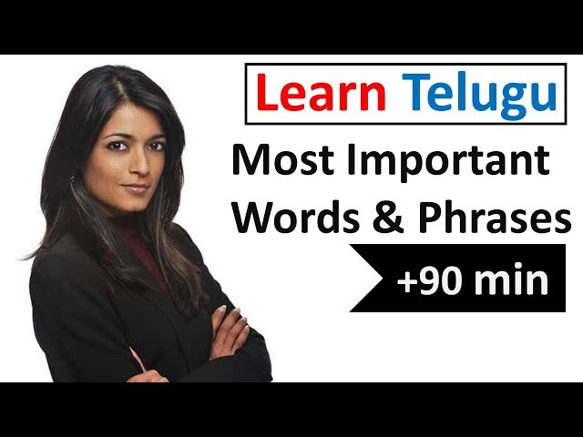 Learn Telugu in 5 Days - Conversation for Beginners thumbnail