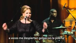 Adele - Set fire to the rain subtitulos en español.