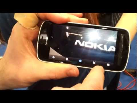 Nokia 808 Pureview, con 41 MPX video demo