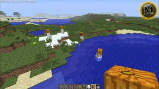 Minecraft 1.9 - Snow Golem ( Sněhulák )
