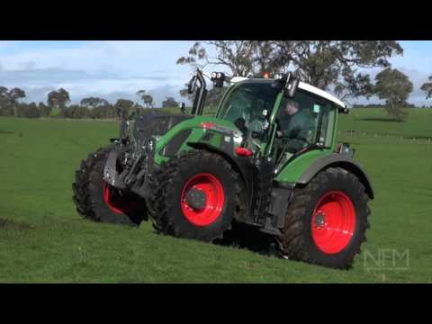 Fendt 716 S4 Vario tractor drive and review