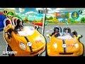 Mario Kart en la vida real. Carolina VS Queen