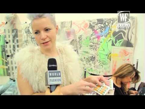 Vivienne Westwood Red Label fall-winter 13-14. Backstage World Fashion Channel