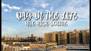DAY IN THE LIFE OF A NEW YORK HIGH SCHOOL STUDENT | VLOG # 1 ??