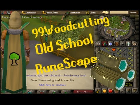 OldSchool RuneScape – 1-99 Woodcutting Guide