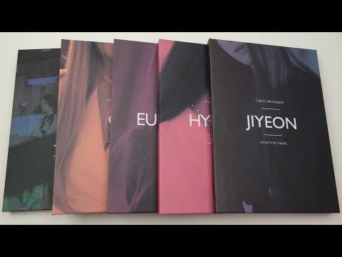 Unboxing T-ARA 티아라 13th Korean Mini Album What's My Name (All Editions!)