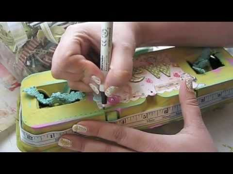 Make An Egg Carton Sewing Kit