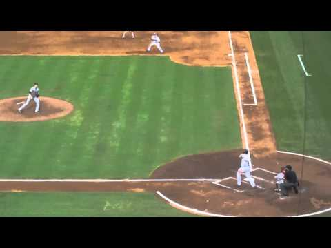 Braves vs Orioles - July 2 - 2011 - David Ross hits grand slam