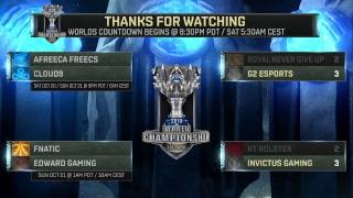 (REBROADCAST) KT vs. IG - RNG vs. G2 | Quarterfinals Day 1 | 2018 World Championship