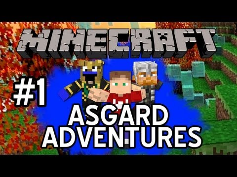 Minecraft: Asgard Adventures: NEWCOMER - Episode 1
