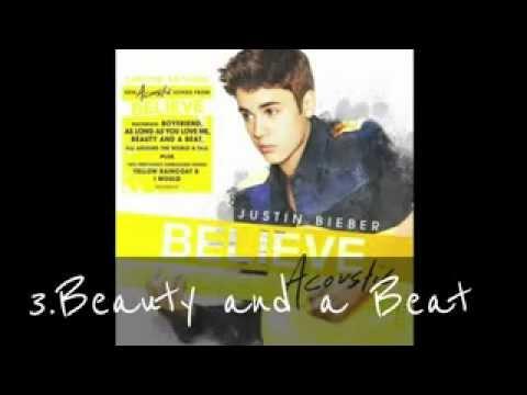 Justin Bieber Believe Acoustic Album (deluxe Edition) video