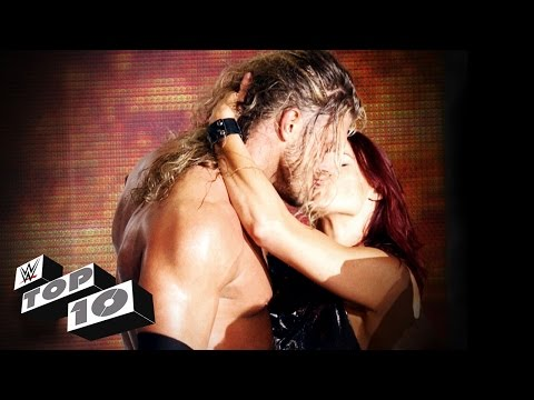 Kisses That Rocked Wwe - Wwe Top 10 video