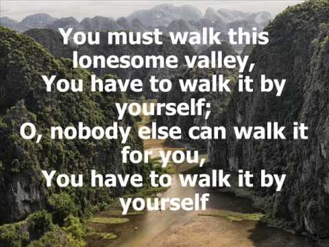 Elvis Presley - Jesus Walked That Lonesome Valley