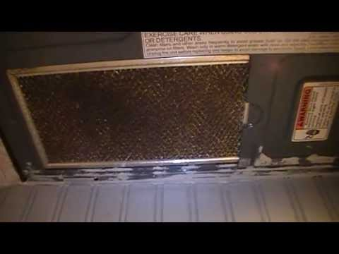 How To Remove Change Exhaust Filters On A Whirlpool