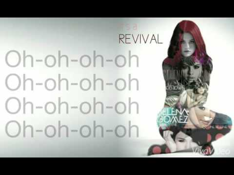 Selena Gomez Revival Lyrics Revival Album