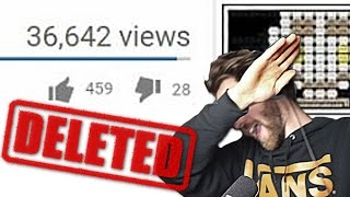 DELETING A VIDEO FOREVER | Reaction & Reading Your Comments