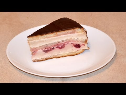 Торт йогуртовый с суфле рецепт