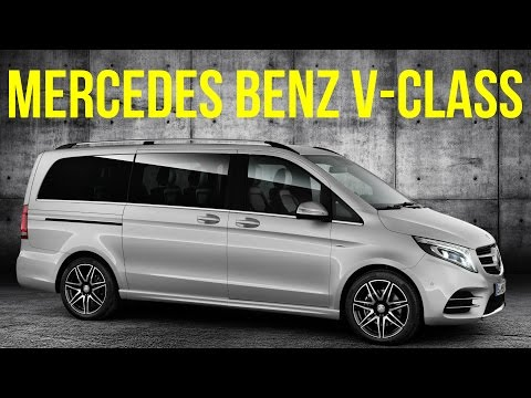 Mercedes Benz V-Class Brilliant Silver Metallic, AMG Line Interior and Exterior