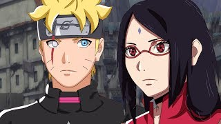 Adult Boruto vs Adult Sarada - Naruto Shippuden Ultimate Ninja Storm 4 Road to Boruto