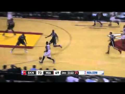Miami Heat vs Brooklyn Nets (Game Recap) December 1, 2012