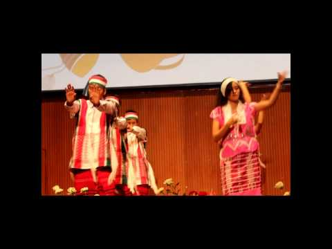 Karen Culture show at Asia Pacific International University