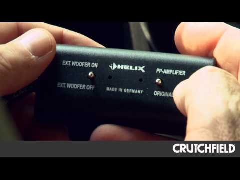 Helix Factory Car Stereo Upgrade System Review   Crutchfield Video