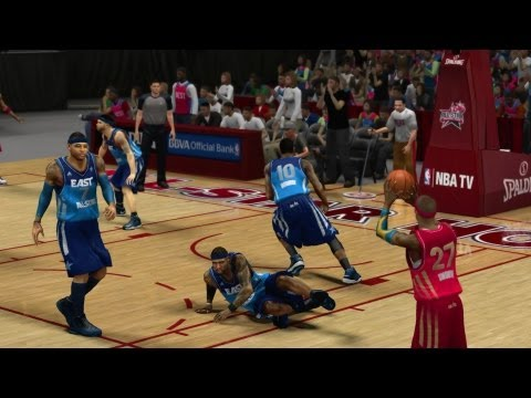 NBA 2K13 My Career - All Star Game