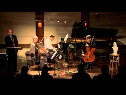 Inside Chamber Music with Bruce Adolphe - Brahms Quartet No. 1 in G minor, Op. 25