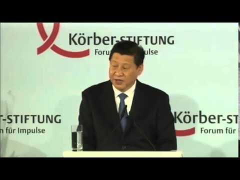 Xi Jinping - Rede 2014 in Berlin - deutsche Übersetzung
