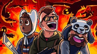 These Corpse Launches Are HILARIOUS! - World War Z Funny Moments
