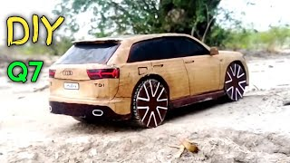How to make a rc Car | Audi Q7 2018 | Cardboard RC Car | DIY Cardboard Audi RC Car | rc Super CAR