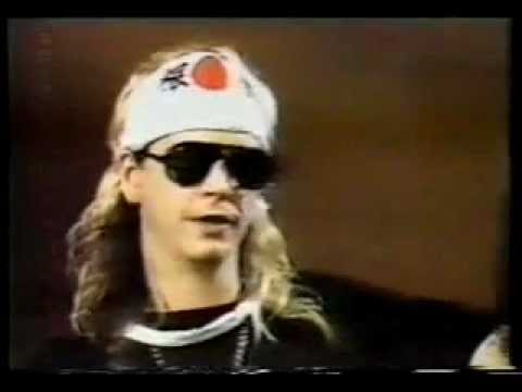 Guns n' Roses interview sessions- Slash Duff Izzy Axl Music Videos