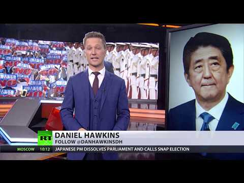 Gamble for power: Japanese PM dissolves parliament, calls snap election