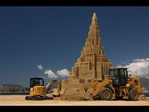 ギネス世界記録にチャレンジ!世界で最も高い砂の城