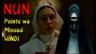 The NUN - Missing Points in Official Teaser No one Talked About (Hindi)