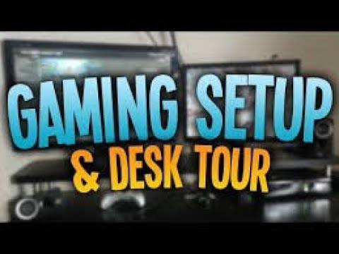 My Gaming Room Tour 2K18