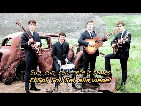 Here Comes The Sun - The Beatles (LYRICS/LETRA) [Original]