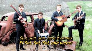 Here Comes The Sun The Beatles Letra Original
