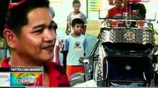 BP: Hi-tech na tricycle sa Pangasinan,   tampok sa car and motor show