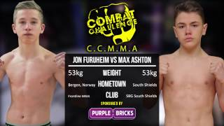 Combat Challenge North East 7: Max Ashton vs Jon Furuheim