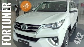 Toyota fortuner Top Model 4x2 ,for  price 15:15 min, features , NEW FORTUNER 2017 - 2018