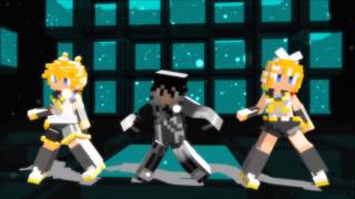 Oppa Gangnam Style : Minecraft Dance Party (Custom Dance)