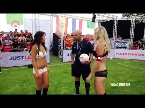 Duitsland - Korea | WK in lingerie 2014 (Germany vs South-Korea | World Cup in Lingerie 2014)