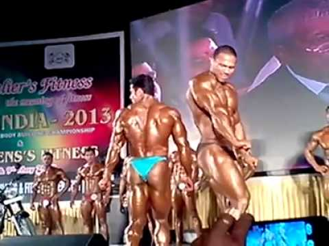 Mr India 2013 Suhas Khmkar