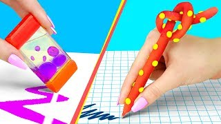 9 Weird Ways To Sneak Stress Relievers Into Class / Anti Stress School Supplies