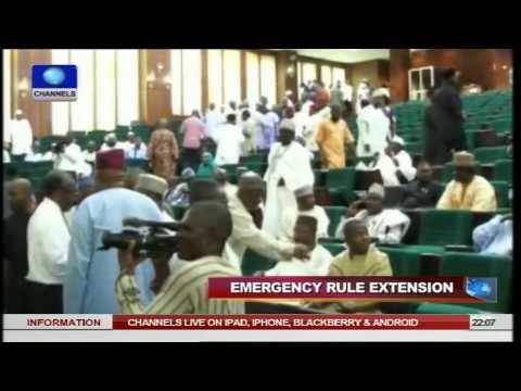 News@10: NASS Commotions Tears National Assembly, Lawmakers Apart 20/11/14 Pt.1
